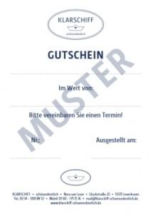 Klarschiff-Gutschein-Muster
